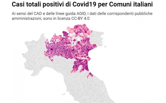 covid comuni italiani